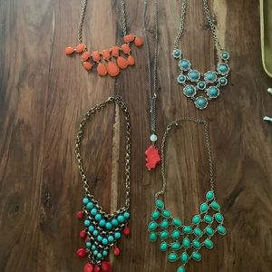 Lot of Chunky Necklaces